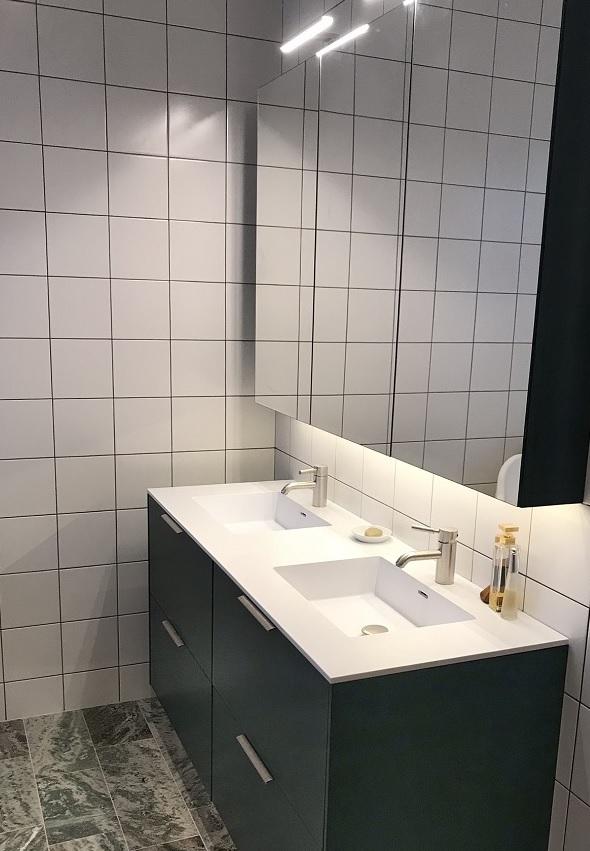 Etiler Corian Banyo Tezgahı