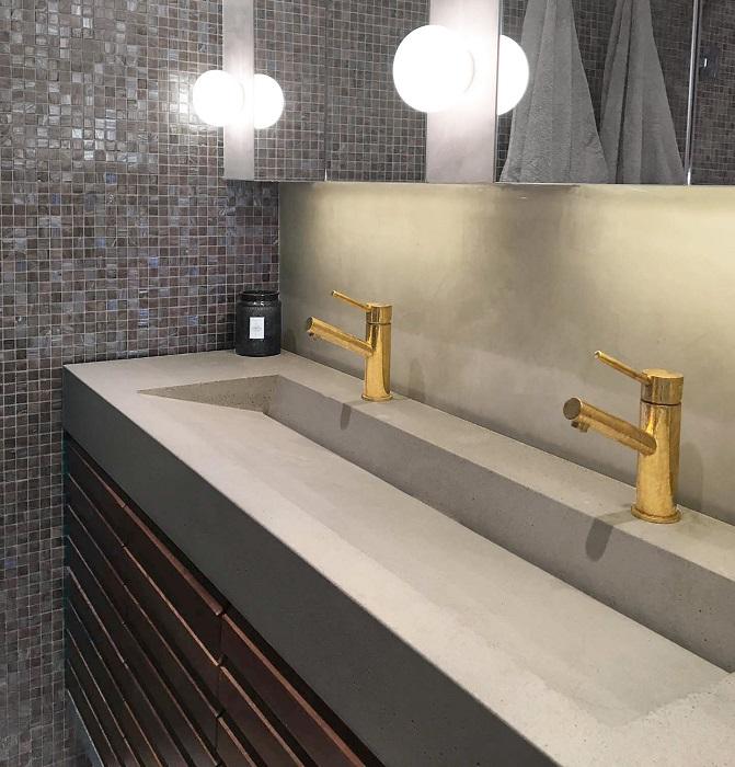 Zeytinburnu Corian Banyo Tezgahı